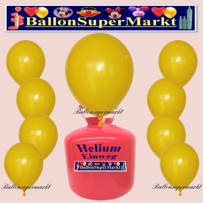 luftballons helium einweg set rundballons gelb 30 st ck lu hs ss luftballons helium einweg. Black Bedroom Furniture Sets. Home Design Ideas
