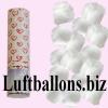 Mini-Konfettikanone, Konfettishooter Rosenblätterregen, Weiß