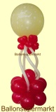 Ballondekoration Hochzeit mit Just Married Riesenluftballon-Helium