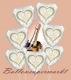 7 Hochzeits-Luftballons Wedding Wishes mit Helium