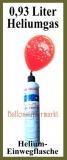 Helium-Einweg-Mini-Flasche, 0,93 Liter Ballongas