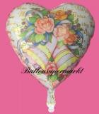 Hochzeits-Luftballon mit Helium, Wedding Wishes, Blumen, Hochzeitsglückwünsche und Hochzeitsgeschenk