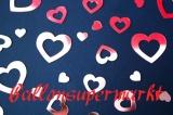 Konfetti Hochzeit, Tischdekoration, Rosa Herzen in 3 verschiedenen Größen