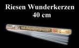 Riesenwunderkerzen, Riesensprühkerzen: 40 cm