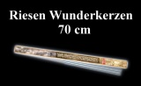 Riesenwunderkerzen, Riesensprühkerzen: 70 cm